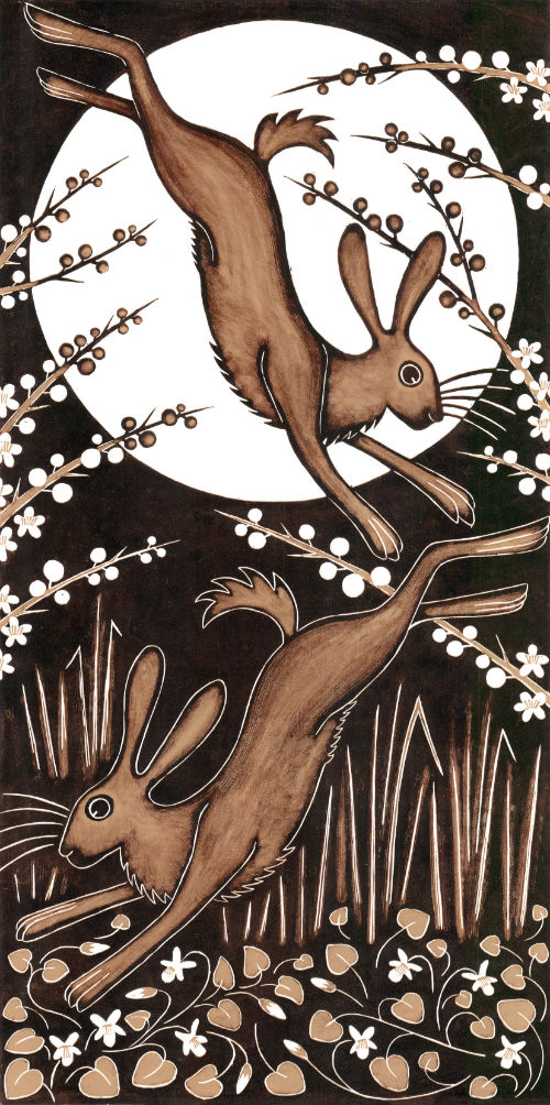 Tall March Hares